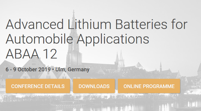LISA at Advanced Lithium Batteries for Automobile Applications – ABAA 12