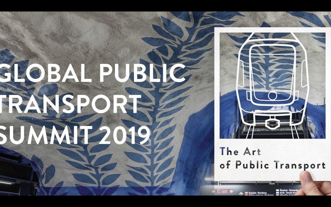 LISA at UITP Global public transport summit Stockholm 2019